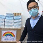 Il Jolly Montemurlo e la famiglia di imprenditori cinesi Ding Jianmin donano al Comune di Montemurlo mascherine chirurgiche