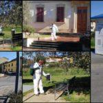 Montemurlo, stamattina la sanificazione di tutte le aree pubbliche e degli arredi urbani. Chiuso il cimitero