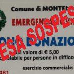 Spesa sospesa, i montemurlesi hanno già donato oltre 2 mila euro