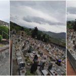 Il cimitero è chiuso ma il Comune continua a fare manutenzione