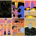 """In libreria e fumetteria, il coloratissimo e surreale romanzo grafico di Lorenzo Pontani """"L'uomo che cadeva sempre"""", Phoenix Publishing"""
