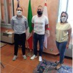 """Azienda dona al Comune 2 mila mascherine """"tricolore"""