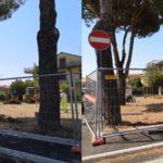 Al via ai lavori di restyling del giardino di via Bolsena