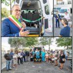 Inaugurato ieri il nuovo pulmino per i servizi sociali della Misericordia di Montemurlo, acquistato grazie alla generosità delle imprese montemurlesi
