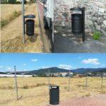 Montemurlo città bella e pulita: installati nuovi cestini per i rifiuti