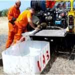 Sos animali selvatici. Siccità e mancanza d'acqua: Vab e Comune portano due cisterne d'acqua alle Volpaie per abbeverare selvaggina e rapaci