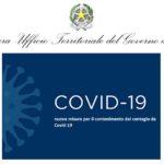 Ordinanza del Ministero della Salute del 16 agosto 2020. Attuazione delle nuove misure per il contenimento del contagio da Covid-19