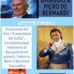 Omaggio a Piero De Bernardi 9 settembre al Castello dell'Imperatore