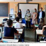"""Nuovo anno scolastico, il sindaco Calamai saluta gli studenti della scuola media """"Salvemini- La Pira"""":« Insieme ce la faremo!»"""