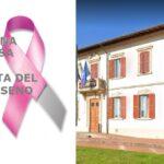 Il municipio si tinge di rosa. Anche quest'anno il Comune aderisce alla Campagna Nastro Rosa AIRC per la lotta del tumore al seno