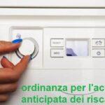 Montemurlo, il sindaco firma l'ordinanza per l'accensione anticipata dei riscaldamenti