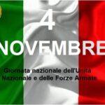 """AMontemurlo per il 4 novembre """"Giorno dell' Unità Nazionale e delle Forza Armate"""" nessuna cerimonia pubblica"""