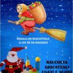 """A Montemurlo arriva la """"Calza della solidarietà"""". Al via alla raccolta di giochi per donare un sorriso ai bimbi delle famiglie in difficoltà economica"""