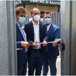 Montemurlo, presentato il rinnovato Ecocentro di Oste con recinzioni anti-abbandono e telecamere antidegrado