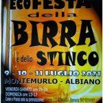 """Ad Albiano arriva L'Eco-Festa della Birra e dello stinco"""""""